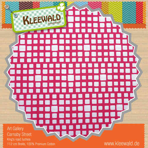 SQUARED ELEMENTS PINK • by ART GALLERY PREMIUM COTTON