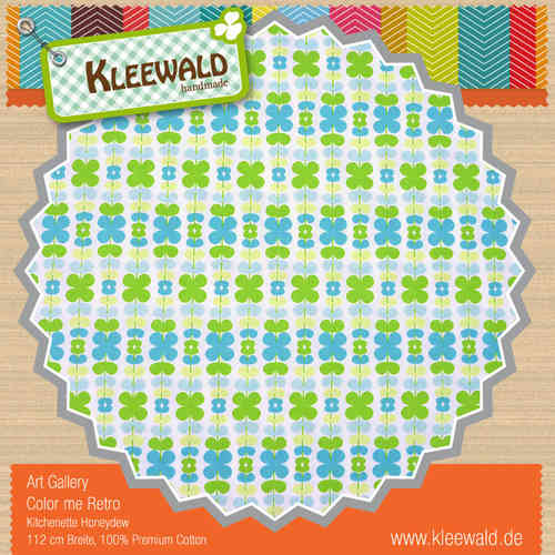 KITCHENETTE HONEYDEW • by ART GALLERY PREMIUM COTTON