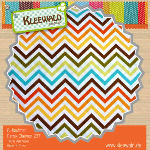 REMIX CHEVRON COLORS • by ROBERT KAUFMAN