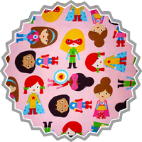 SUPER KIDS ADVENTURE GIRLS • by ROBERT KAUFMAN