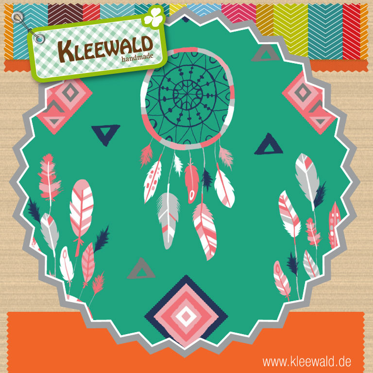 Emerald Dreamcatchers - by Camelot Fabrics
