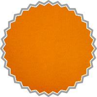 Sweat uni orange, 100% Baumwolle / Öko-Tex 100