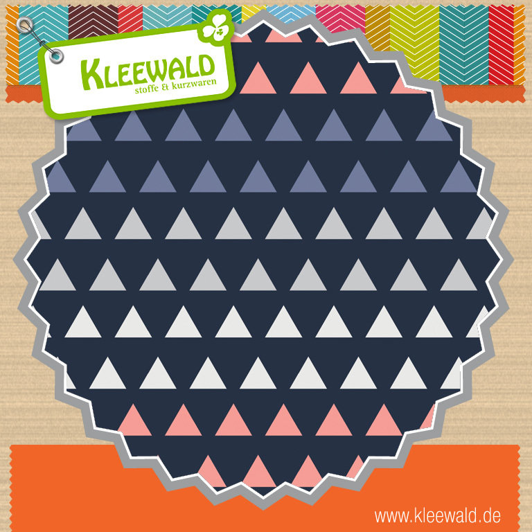 Triangle Gradient in Multi  / Coraline - by Camelot Fabrics