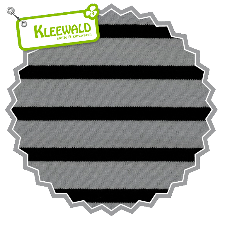 Bio-Interlock Ringel / Black - Alloy Grey / C.Pauli – Kleewald