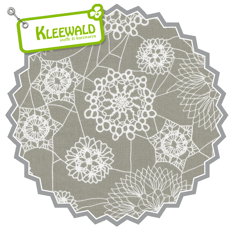 SPELLBOUND  / Doily Web Grey / by Cotton + Steel / 100% Cotton