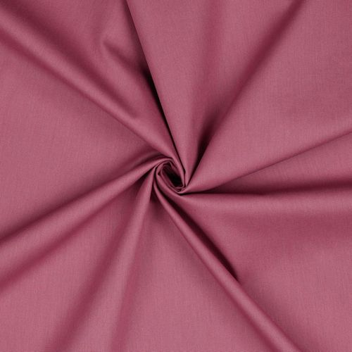 POPLIN UNI MAUVE • 100% COTTON