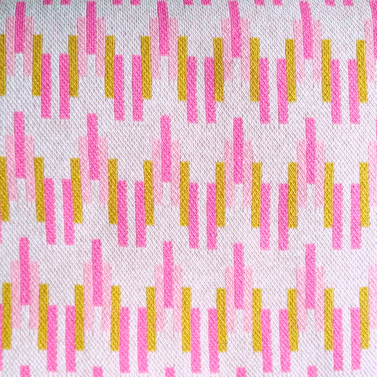ALBSTOFFE / BLISS - PICK A STICK No. 1 / Bio-Jacquard / Hamburger Liebe
