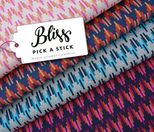 ALBSTOFFE / BLISS - PICK A STICK No. 3 / Bio-Jacquard / Hamburger Liebe