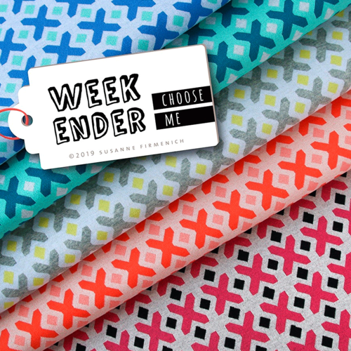 ALBSTOFFE WEEKENDER - CHOOSE ME / No.5 / Bio-Jacquard / HHL