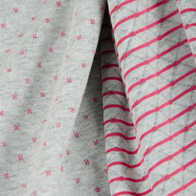 QUILT-LIN / Doubleside pink - HILCO Winter 2019