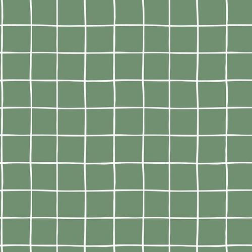 ORGANIC SOFT SWEAT GRID OLD GREEN