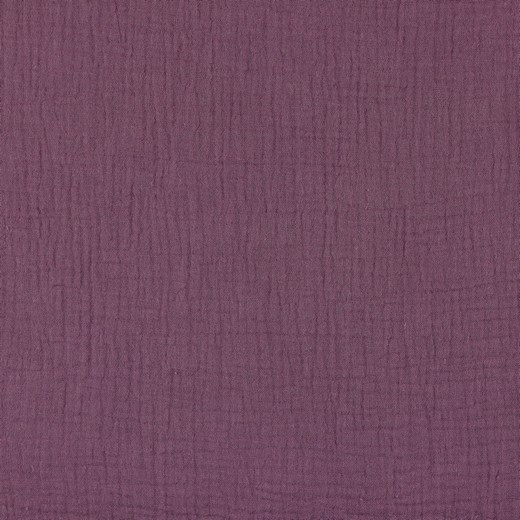 ORGANIC DOUBLE GAUZE UNI PURPLE