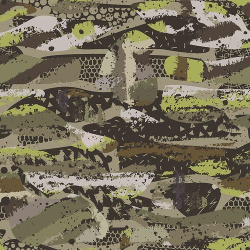 ORGANIC SWEAT DIGITAL CAMOUFLAGE • ARMY GREEN
